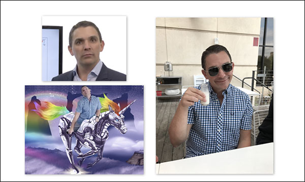 Photos of Ryan Deiss being...Ryan Deiss