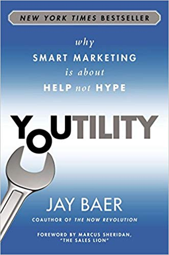 Joe Manausa reviews New Your Times Best Seller, Youtility, by author Jay Baer.