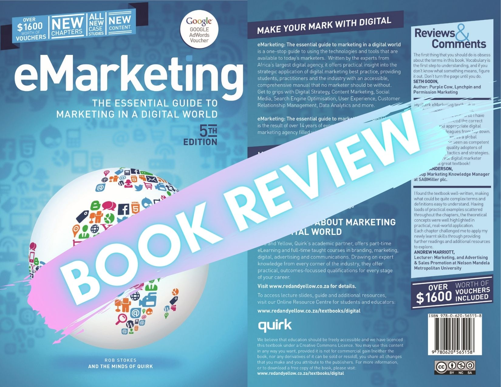 Digital Marketing Textbook: eMarketing – The essential guide to marketing in a digital world 5th Edition review.