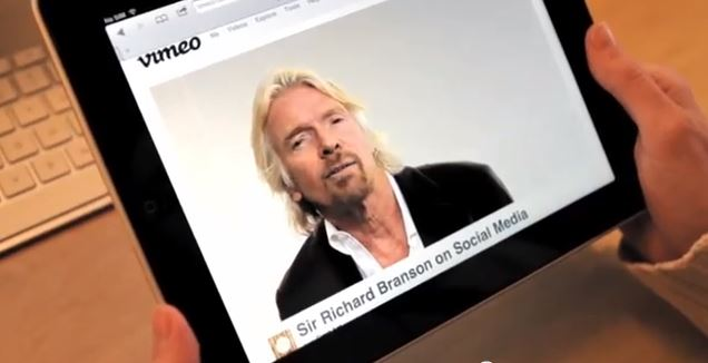 Richard Branson talks Social
