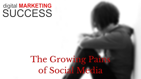 The Growing Pains of Social Media