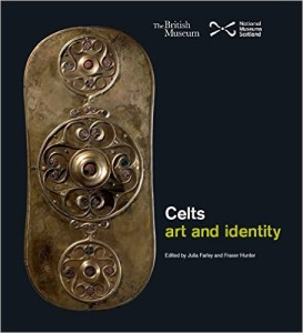 Cover of the British Museum's exhibition catalog Celts: Art and Identity