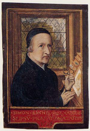 Self-portrait of Simon Bening