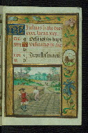 Walters W425 f. 7r calendar image for July