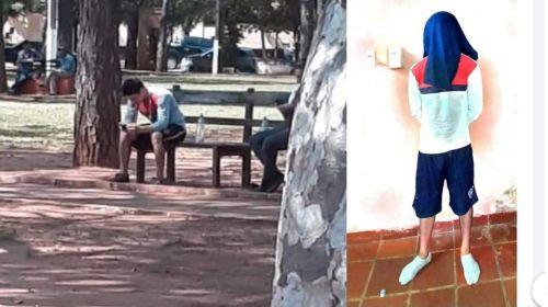 <span>Tenía orden de captura, se le ocurrió sentarse  frente a la Comisaría y fue detenido</span>