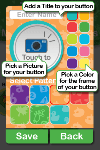 My Baby Einstein iPhone App - Discovery Card Feature