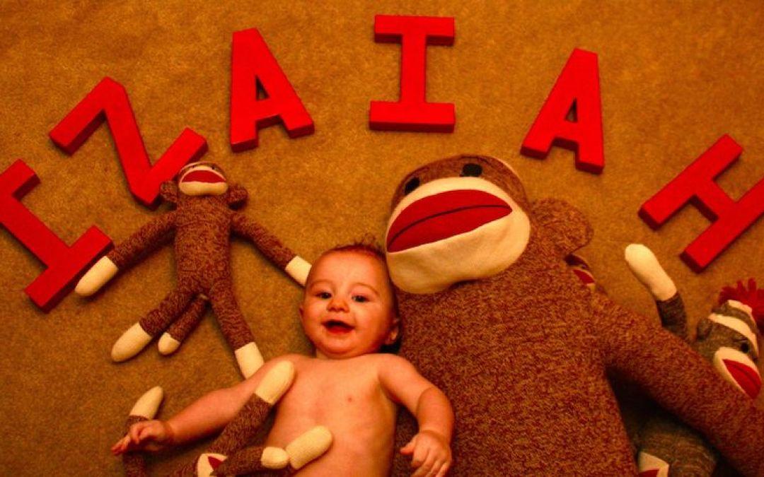 6 Months Old – Happy Half Birthday Izaiah