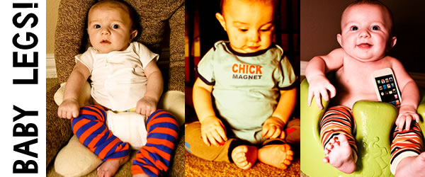 Mommy Must Have: Baby Legs! Yes Leg Warmers for Babies.