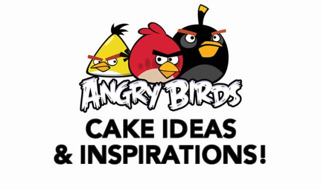 Angry Birds Cake Ideas