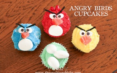 5 Fabulous Angry Birds Cupcakes to Squawk At