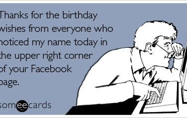 birthday wishes on facebook