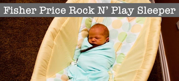 Review: Fisher Price Rock N Play Baby Sleeper