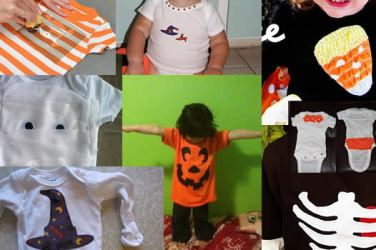 make your own halloween onesies