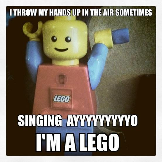 ayyyyo i'm a lego