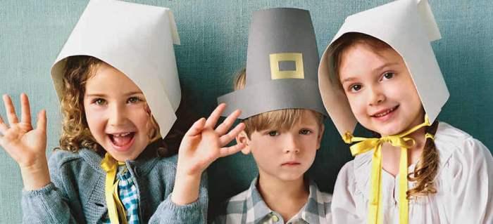 DIY Paper Pilgrim Hat