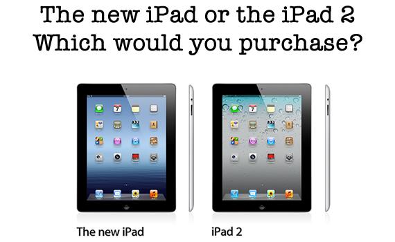 new ipad or ipad 2