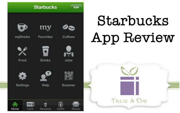 starbucks app review