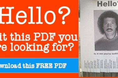 hello is it me you are looking for printable