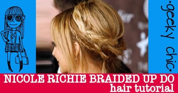 nicole richie braided up do
