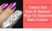 The Best Way To Remove Nail Polish - Easy & Works With ...