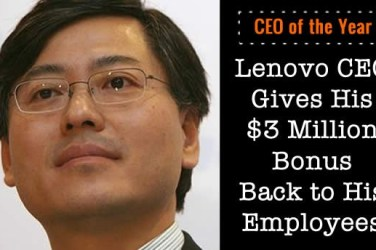 lenovo ceo of the year