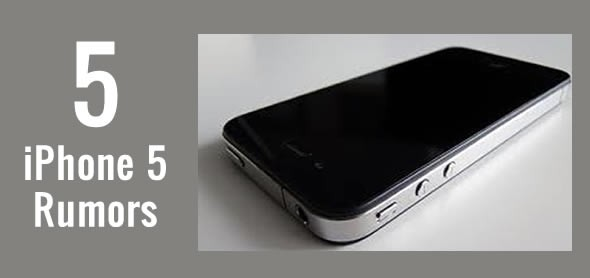 apple iphone 5 rumors