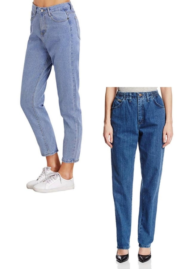 mom jeans back in style