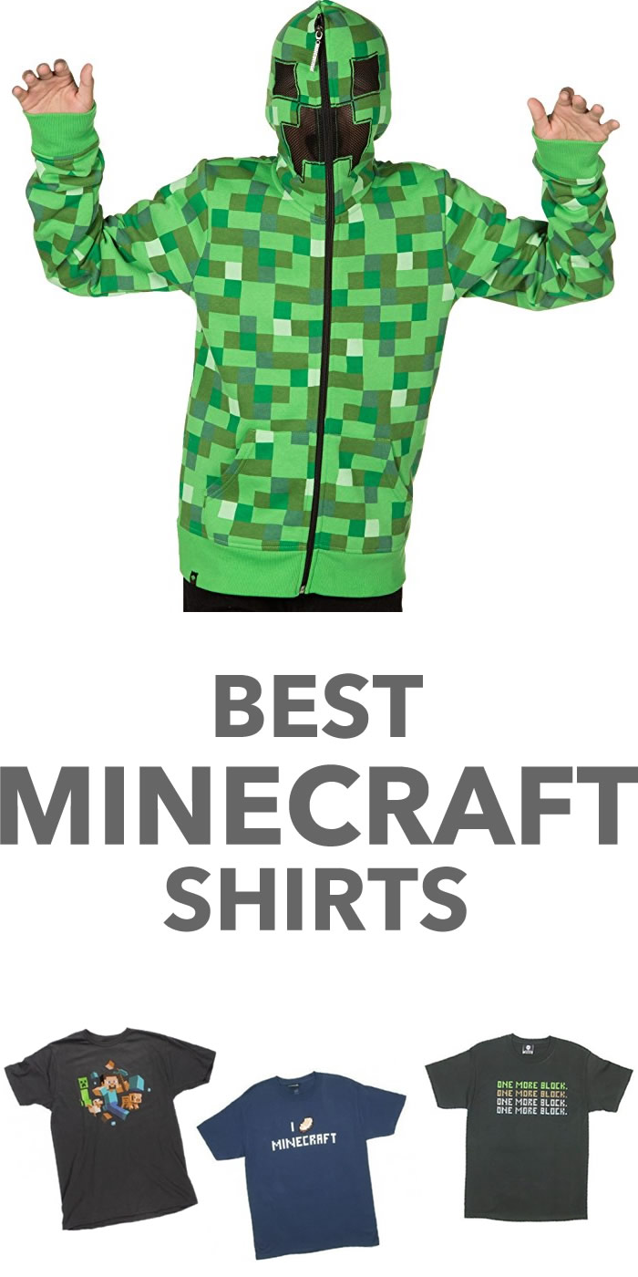 best minecraft shirts