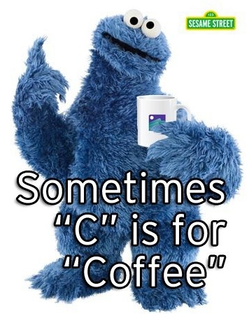 C is the Coffee