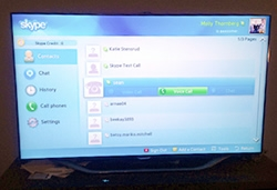 skype on smart tv