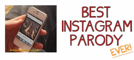 instagram parody