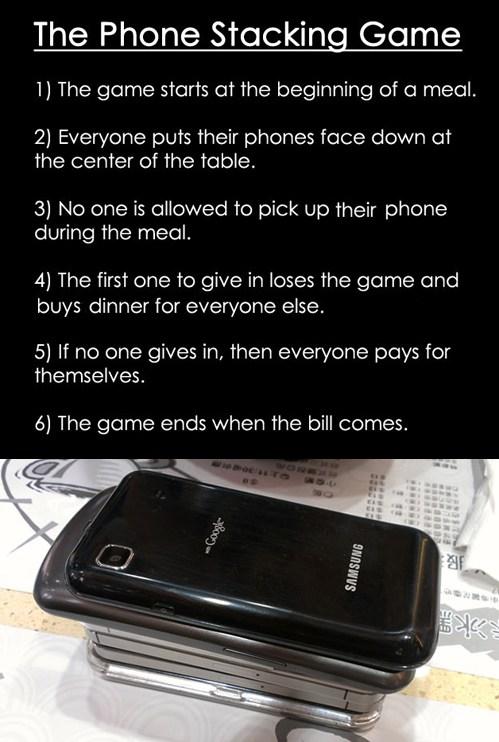 phone stacking game