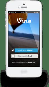 twitter launches vine app