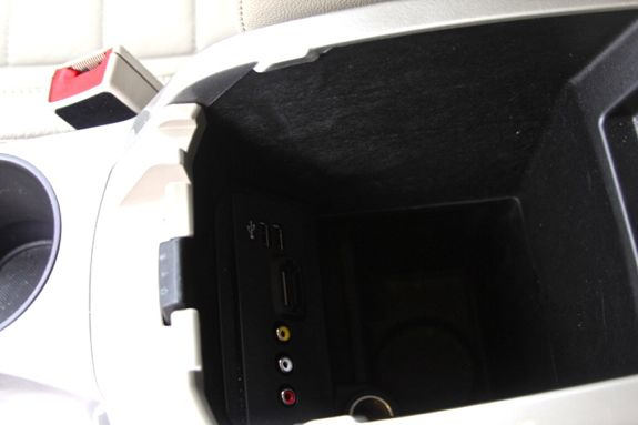 ford cmax console