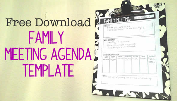 Family Meetings  How TheyVe Helped Our Family Connect  Digital Mom