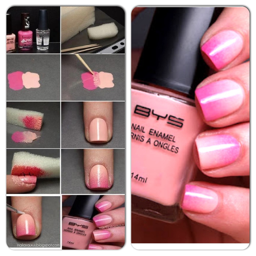 ombre nails how to