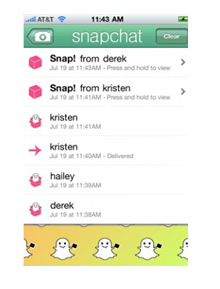 what is snapchat - snapchat screenshots