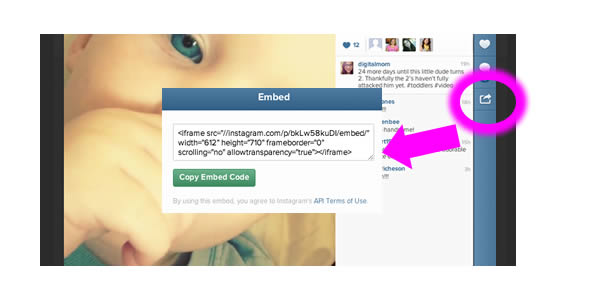 How to Embed Instagram Video