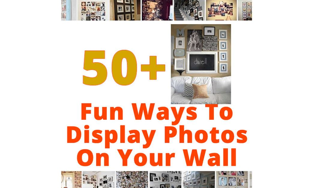 50+ Gallery Photo Wall Ideas and Inspirations