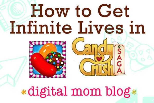Candy Crush Cheats for Infinite Lives