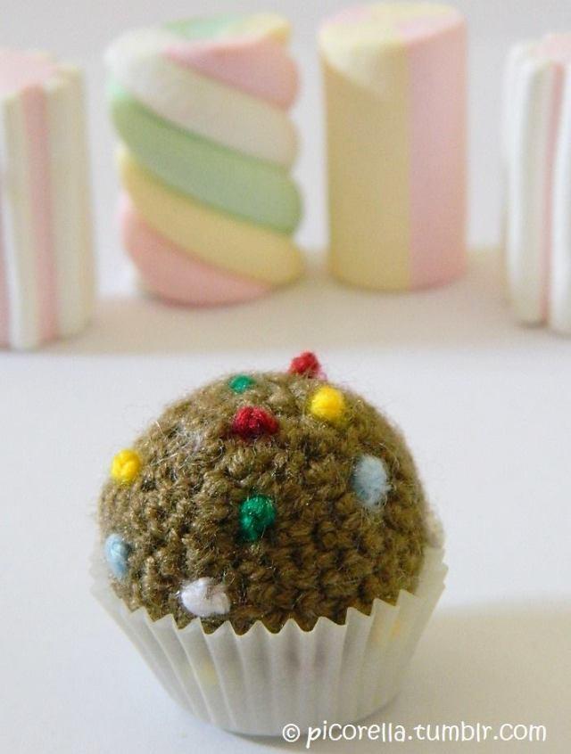 Candy Crush Crochet Color Bomb