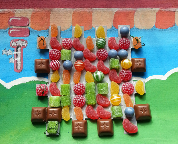Candy Crush Game Board