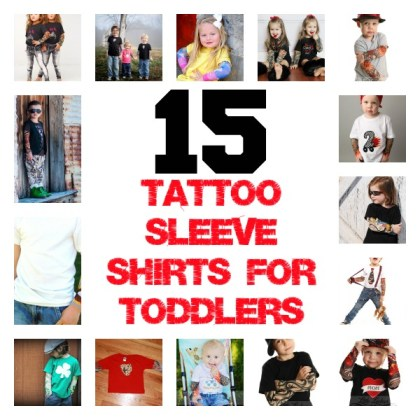 tattoo shirts for toddlers
