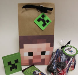 minecraft paper bags
