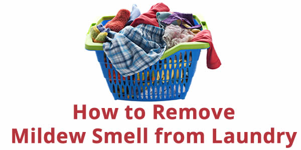 mildew laundry smell