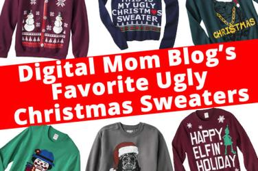 favorite ugly christmas sweaters