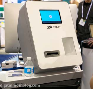 bitcoin ATM at ces