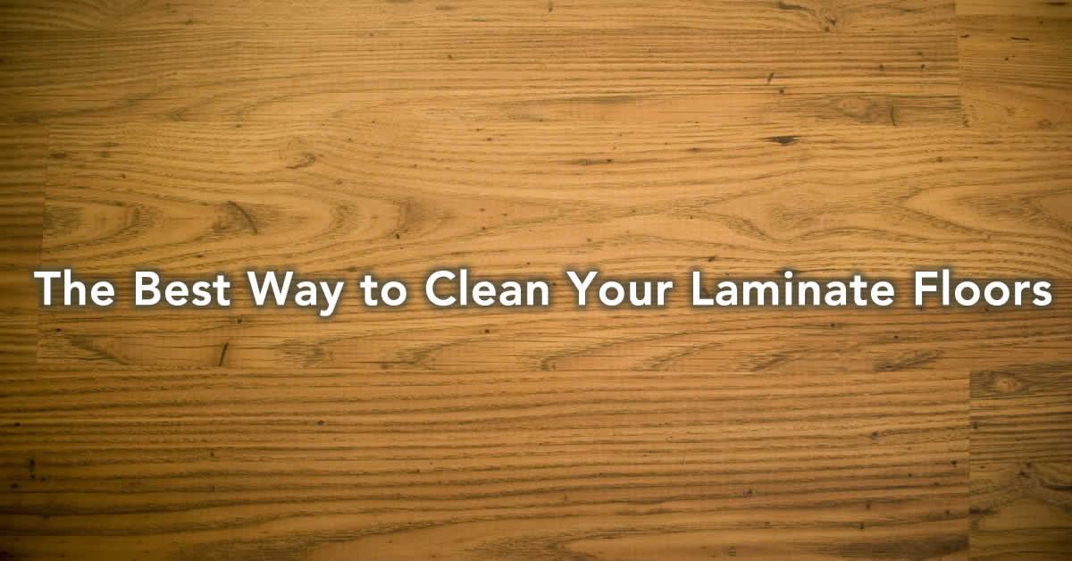 clean laminate floors - best way to clean laminate cheap & simple