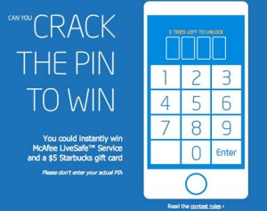 crack the pin
