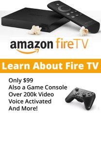 Amazon Fire TV - more than another TV device, this also is a gaming platform